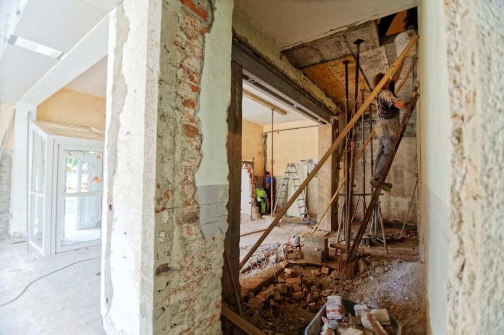 Renoveringsobjekt och hantverkare
