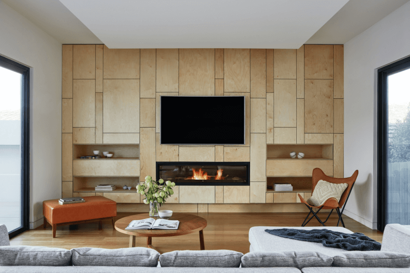 Vardagsrum renoverat hållbart